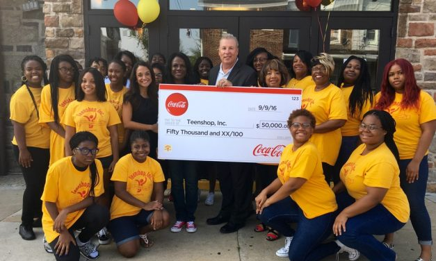 $50,000 Grant from the Coca-Cola Foundation