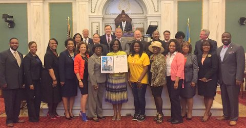 Resolution from Philadelphia City Council