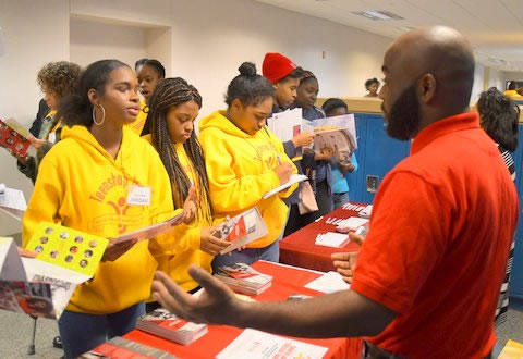Teenshop Career Day and College Fair Community Outreach