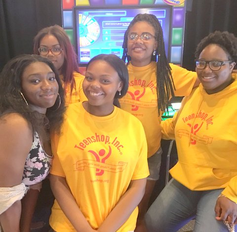Teenshop Builds Future Leaders